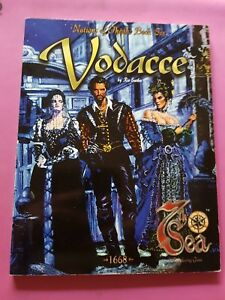 VODACCE - NATIONS OF THEAH BOOK SIX - 7TH SEA ROLEPLAYING JOHN WICK AEG RPG OOP