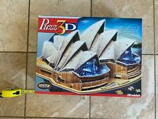 Wrebbit Puzz 3D Sydney Opera House, 1017 Pieces, Used puzzle, all pieces