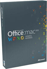 Microsoft Office Mac Home and Student 2011 (Einzeln) (1 Installation) - Vollversion für Mac W6F-00030