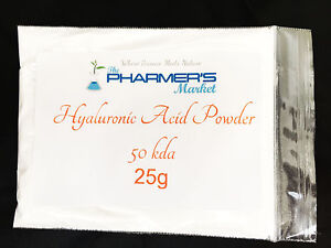 50 kDa SLMW Hyaluronic Acid Powder Lowest Molecular Weight Cosmetic & Food Grade