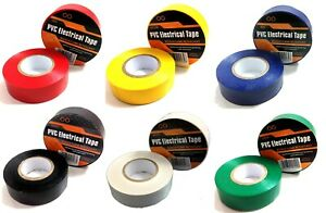 Insulation Tape Coloured Electrical PVC Insulating Tape 19MM Flame Retardant
