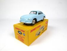 Porsche 356A Coupe - DINKY TOYS DeAgostini blue 1:43 MIB DIECAST MODEL CAR 182