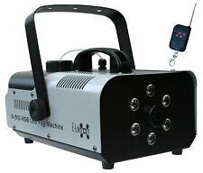 E-Lektron N-910-RGB Nebelmaschine 900W DJ Party Effekt Maschine LED kabellose FB