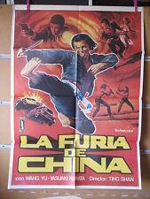 A1793     LA FURIA DE CHINA. TING SHAN, WANG YU Y YASUAKI KURATA