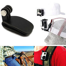 Black Travel Quick Clip Mount for GoPro HD 2 3 3+ 4 Camera Accessories