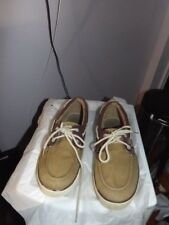 Beverly hills polo club canvas boat shoes size 10