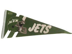 NEW YORK JETS  Vintage 1990s Collectible Pennant NFL