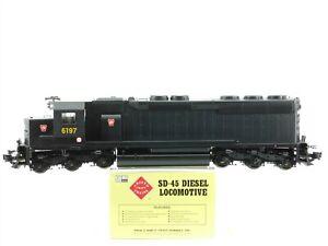 G Scale Aristocraft ART-22409B PRR Pennsylvania Rail SD45 Diesel #6197 DCC Ready