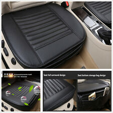 1XCar Full Surround Cushion Seat Cover Bamboo Charcoal PU Seat Cushion Pad Trim