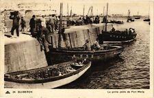 CPA  Quiberon - La petite Jetée de Port Maria     (209784)