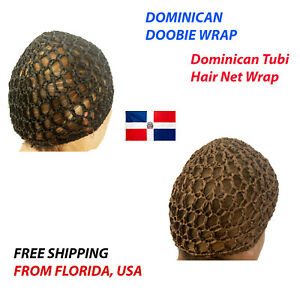 DOMINICAN TUBI (DOOBIE) HAIR WRAP CAP GORRO TUBI DOMINICANO