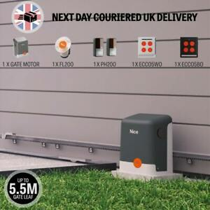 NiceHome FILO400 Sliding Gate Opener Kit Suitable For Gates Up To 5.5M and 400KG