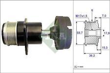 INA 535015710 Alternator Freewheel Clutch Ford C-Max Focus Mondeo