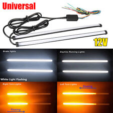 Switchback Flowing Car LED Daytime Running Light Knight Turn Signal Brake Strip
