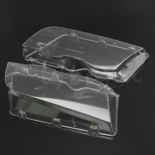Headlight Cover Lenses Head Lamp Lens For BMW E46 3 Series 4DR Wagon Sedan 99-01