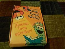 Sesame Street Beginnings: Talk, Read, Write! (VHS,Workbooks,Posters) En Espanol