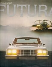Ford Fairmont Futura 1978 USA Market Sales Brochure