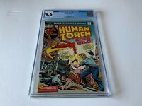 HUMAN TORCH 2 CGC 9.6 WHITE PAGES TORCH GOES WILD MARVEL COMICS 1974