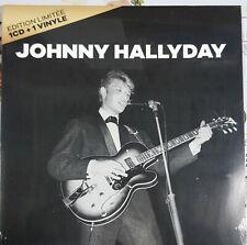 Johnny hallyday Édition limitée 1 CD+1 Vynile pochette ouvrante rare