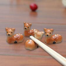Plum Deer Shape Chopsticks Spoon Holder Tableware Chopstick Rest Household Ucls