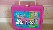 1989 Mattel Cool Times Barbie Lunch Box with No Thermos