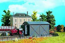 Garaje para locomotoras