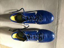 Nike Vintage 2003 Mercurial Vapor Ronaldo R9 Royal Blue Football Boots Size 8