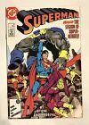 SUPERMAN VS THE LEGION OF SUPER HEROES #8 1987 Byrne/Kesel - Comic FREE SHIPPING