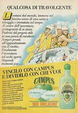X2361 Shampo CAMPUS - Pubblicità 1988 - Advertising