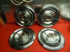 """4 USED 66 Ford Thunderbird 15"""" Wheelcovers #C6SZ-1130-A"""