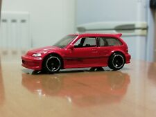 Hot wheels  HONDA CIVIC EF red First edition