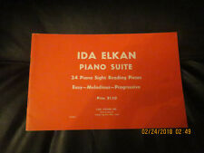 Piano Suite by Ida Elkan