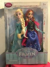 Disney Frozen D23 2013 First Edition And Summer Solstice Anna And Elsa Doll Set