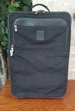 HARTMANN BLACK BALLISTIC NYLON WHEELED TRAVEL CARRY ON BAG SUITCASE LUGGAGE