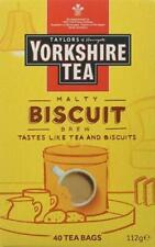 Yorkshire Tea Biscuit Brew Box Of 40 Tea Bags Taylors Of Harrogate...