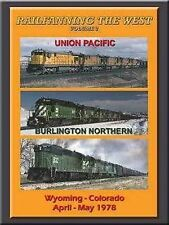 Railfanning West Vol 2 Wyoming Colorado 1978 DVD NEW Union Pacific 6900 DD40AX