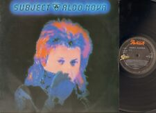 ALDO NOVA SUBJECT 1983 LP Epic LYRICS Sleeve