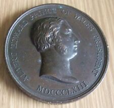 ANTIQUE 1888 CO-OPERATIVE INDUSTRIES EXHIBITION BRONZE MEDAL / MEDALLION