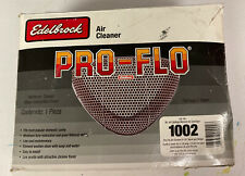 Edelbrock 1002 Pro Flow Chrome Air Cleaner