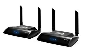 PAKITE PAT-590 2.4/5.0GHz Wireless HD Extender Set für HDMI AV Empfänger  Sender