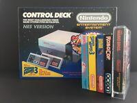 Nintendo NES 1985 Game Games console Super Mario Bros all in MINT CONDITION