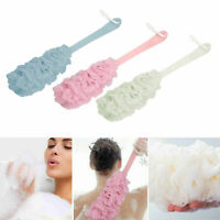 Bath Brush Loofah Shower Sponge Long Handle Back Scrubber Body Exfoliating US