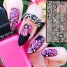 BORN PRETTY Lace Nail Art Stamping Plates Manicure Image Stencil Template Decor