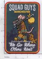 Connecticut - Manchester Squad Guys CT Fire Dept Patch