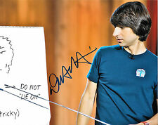GFA Stand-up Comedian * DEMETRI MARTIN * Signed 8x10 Photo D4 COA