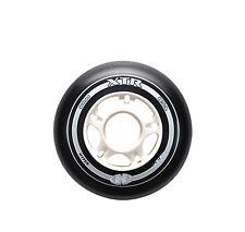 HYPER Inliner Rollen XTR für Fitness Skates 85A 90mm schwarz/weiß