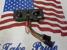 B3 Western Star Heater/AC Control Unit Panel Heater AC Red Dot 60303-3450