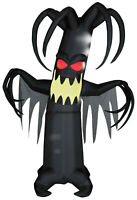 HALLOWEEN 7.5 FT ANIMATED SHAKING SHIVERING TREE  Airblown Inflatable GEMMY