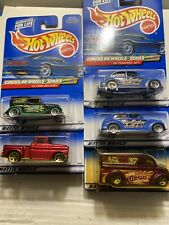 5 Hot Wheels 2000 Circus On Wheels Series Dairy Delivery '56 Flashsider Rare