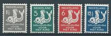 1929 TG Nederland Kinderzegels Nr.225-228 postfris, mooie Zegels!!